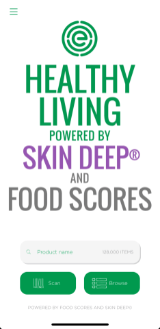 EWG Healthy Living App