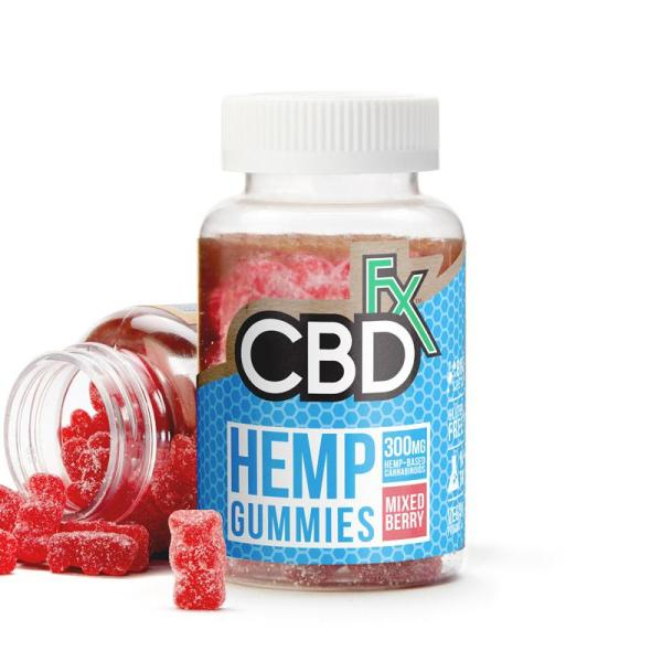 cbd-kafe,CBD Gummy Bears 300mg,CBDFX,Broad Spectrum