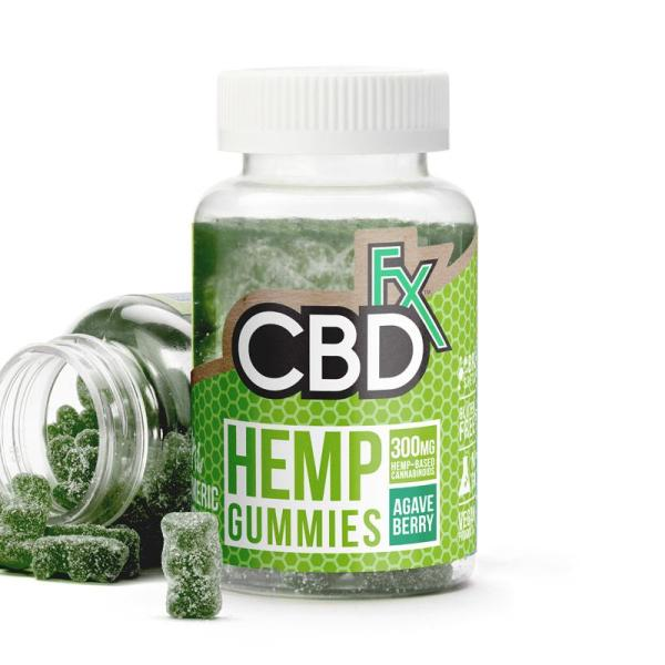 cbd-kafe,CBD Gummies with Turmeric and Spirulina 300mg,CBDFX,Broad Spectrum
