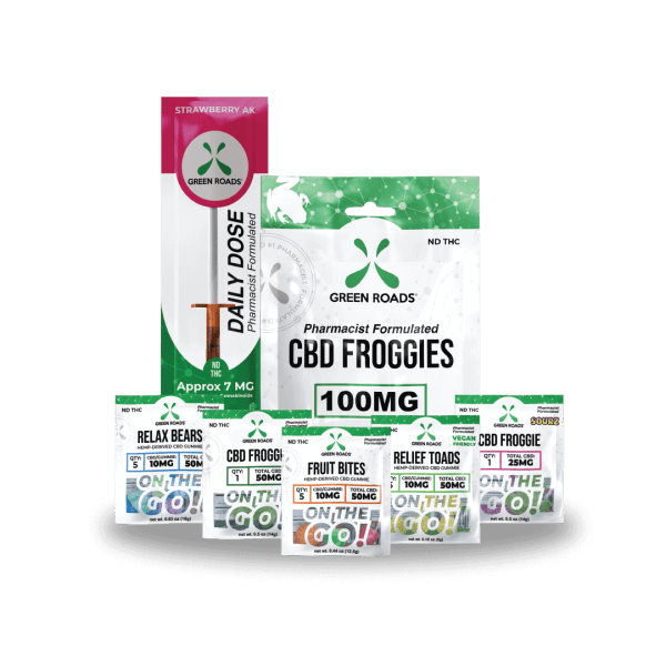 cbd-kafe,Sweet Tooth CBD Bundle,Green Roads,Broad Spectrum