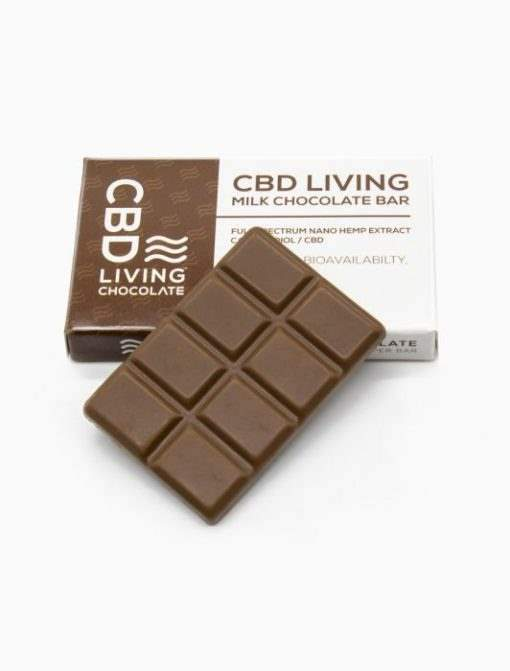 cbd-kafe,CBD Living Milk Chocolate,CBD Living,Other CBD Edibles
