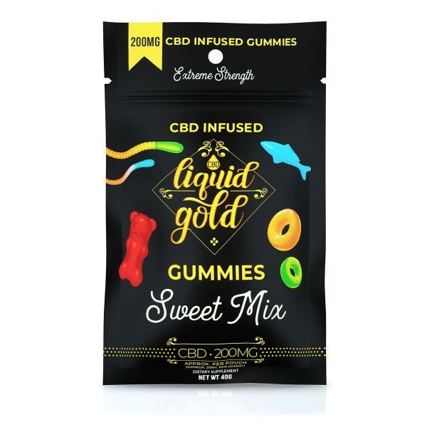 Liquid Gold Gummies Sweet Mix