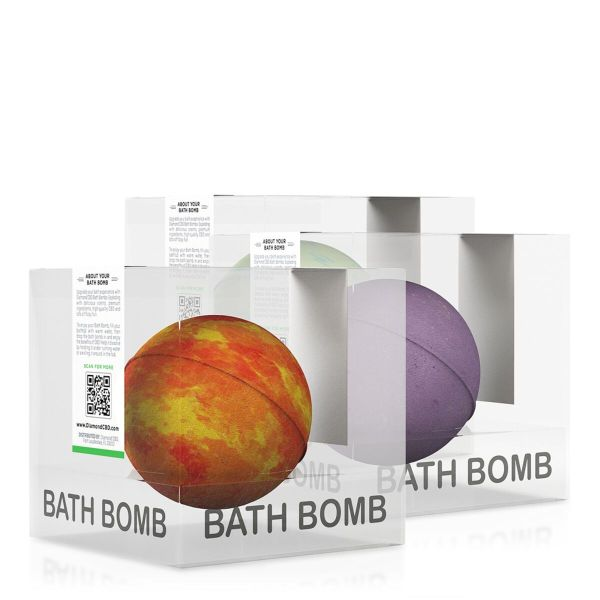 cbd-kafe,Diamond CBD Bath Bomb Bundle A - 100mg,Diamond CBD,CBD Bath & Body