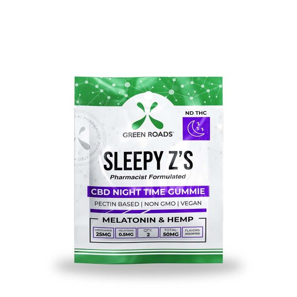 cbd-kafe,CBD Sleepy Z's – 50 mg,Green Roads,Broad Spectrum