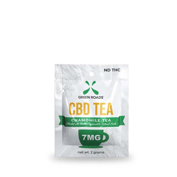 cbd-kafe,Green Roads CBD Infused Tea 1 Teabag,Green Roads,CBD Drinks & Water