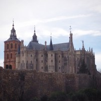 The castle in Astorga.