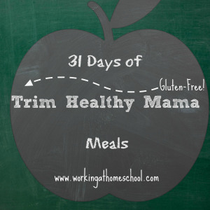 31 Days of Gluten-Free Trim Healthy Mama Meals