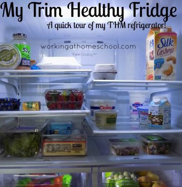 Trim Healthy Mama Basics – What's in my refrigerator