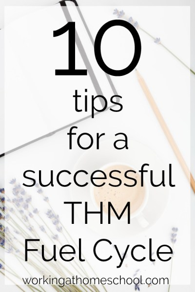 10 Tips for a THM Fuel Cycle