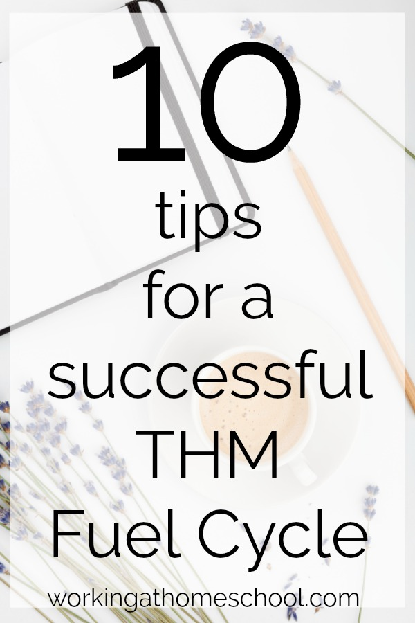 Top 10 tips for a THM Fuel Cycle - if you're a Trim Healthy Mama, this can REALLY help!