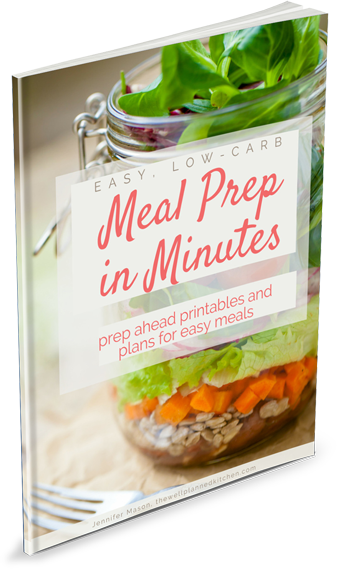 New book – Easy, Low-Carb Meal Prep in Minutes – is available now!