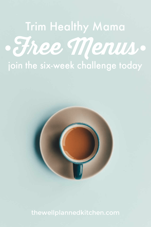 Join the free unofficial THM challenge group and get tons of free menus! Everything you need to get a fresh start and stick to it for good! #trimhealthymama #thm