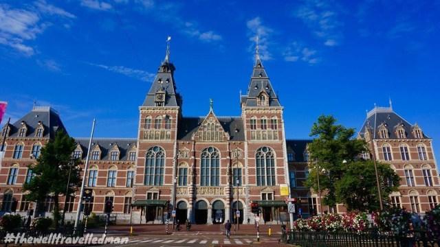 thewelltravelledman travel blog Amsterdam musuem