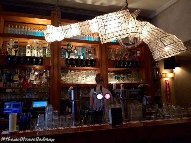 thewelltravelledman travel blog Amsterdam cafe proust