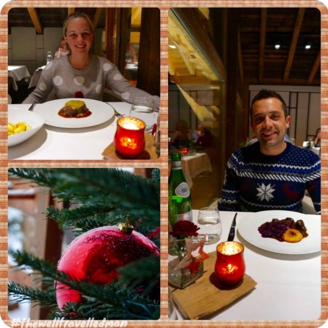 Mooser christmas dinner - Skiing St Anton am Arlberg by the well travelled man