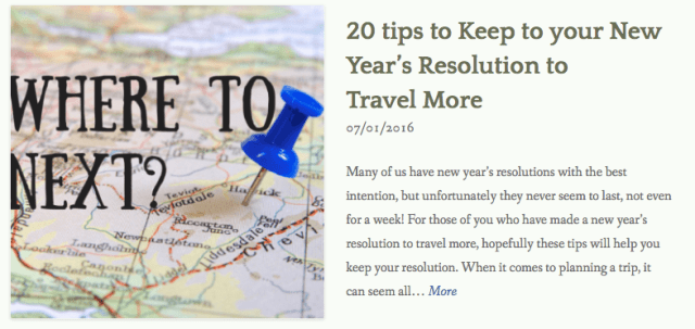 thewelltravelledman 20 tips to keep to your new year's resolution to travel more