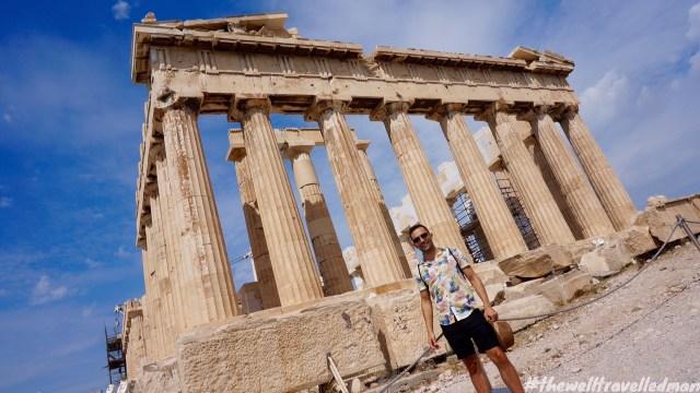 thewelltravelledman the acropolis athens