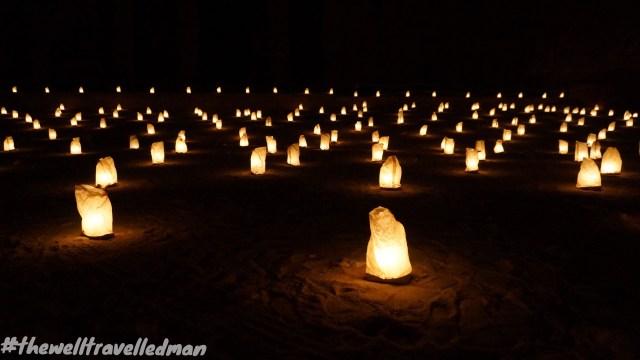 thewelltravelledman petra by night jordan