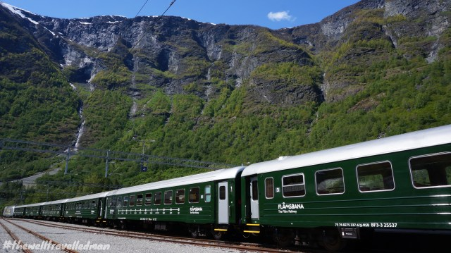 Train from Flåm