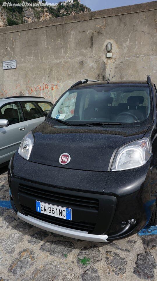 Our economical car for the Amalfi Coast