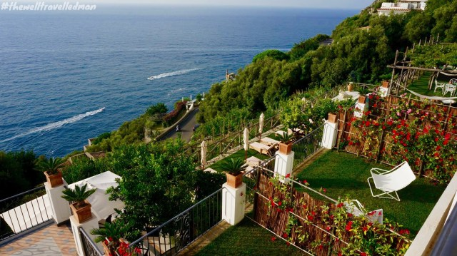 The view from our villa at Villa Gianlica, Praiano
