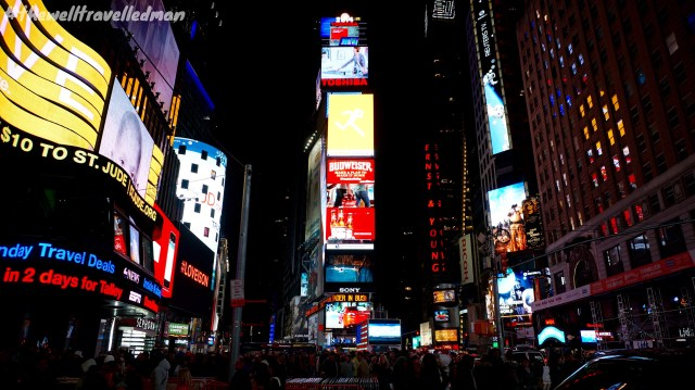 thewelltravelledman times square