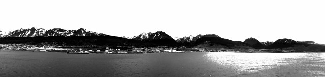 Cruising sights along the Beagle channel