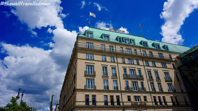 "Hotel Adlon - Michael Jackson dangled his then-infant son ""Blanket"" out one of the hotel's windows"