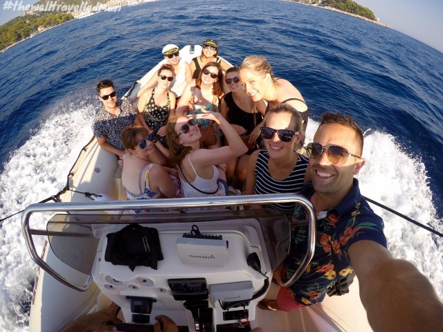 Awesome group of friends sailing from Split to Dubrovnik with MedSailors