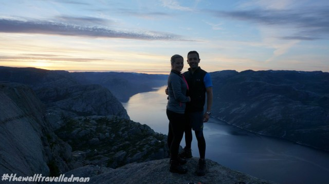 The incredible sunrise hike to Preikestolen (Pulpit Rock), Norway - refer to our Norway page for more information