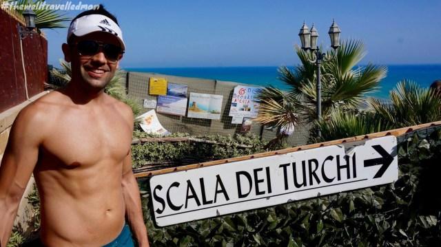 Scala dei Turchi (Turkish Steps) in Realmote, Sicily
