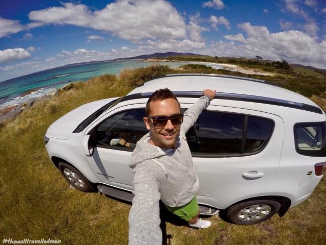 DCIM102GOPROG0867249thewelltravelledman hertz hiring a car in tasmania