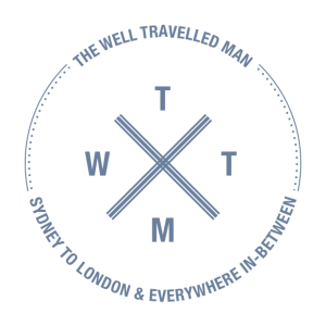 The Well Travelled Man Logo