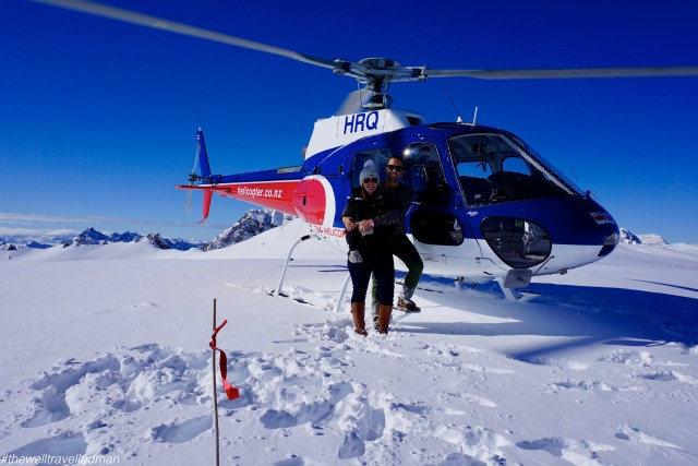 thewelltravelledman mount cook helicopter