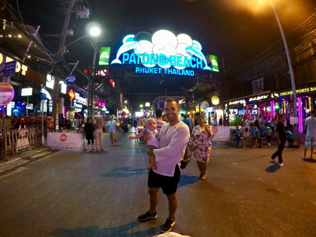 thewelltravelledfamily Patong with a baby