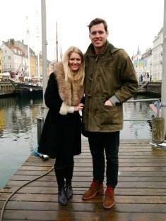 Nyhavn pier in Copenhagen