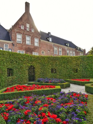 Prinsentuin gardens in Groningen