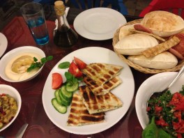 Lebanese food is better than Egyptian food (just my honest opinion).