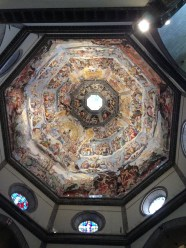 The largest concrete dome in the world at Florence.