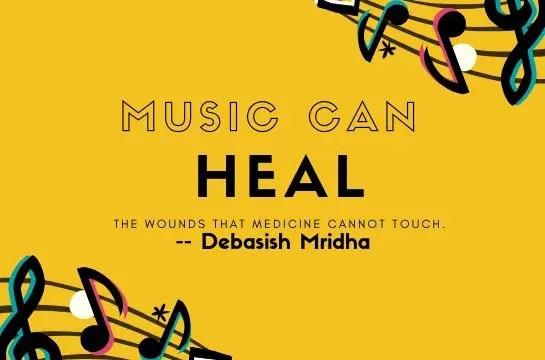 music can heal