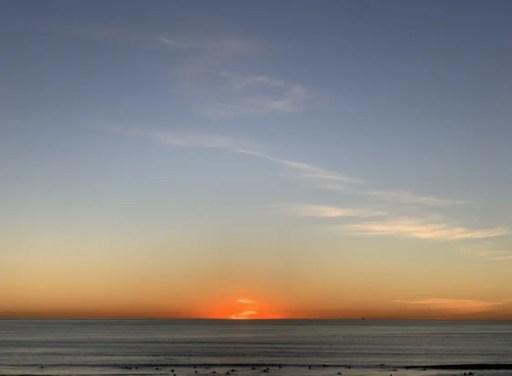 sunset, self-care, beach