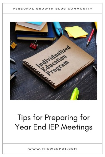 IEP Meeting Prep