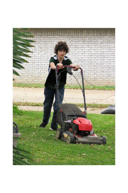 Summertime chores