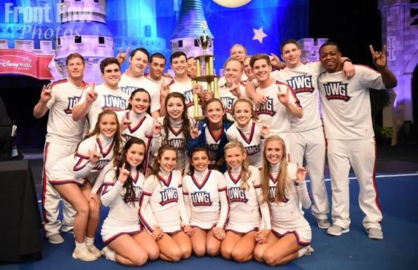 university of west georgia cheerleading sweeps the competition the