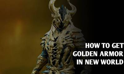 How to get Golden Rage armor in New World Game