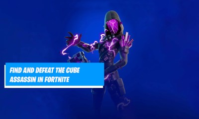 Cube Assassin Location in Fortnite