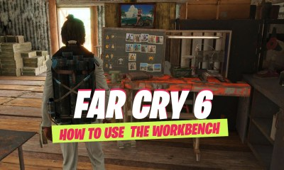 Far cry 6 how to use workbench