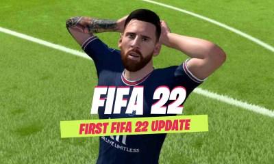 First FIFA 22 update