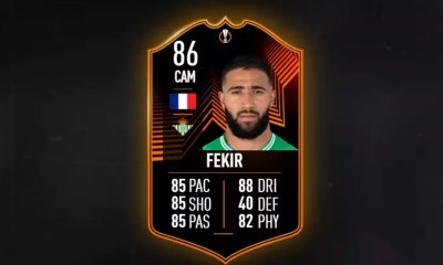 RTTK Fekir SBC in FIFA 22