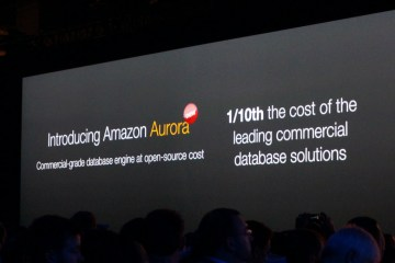 amazon aurora database engine